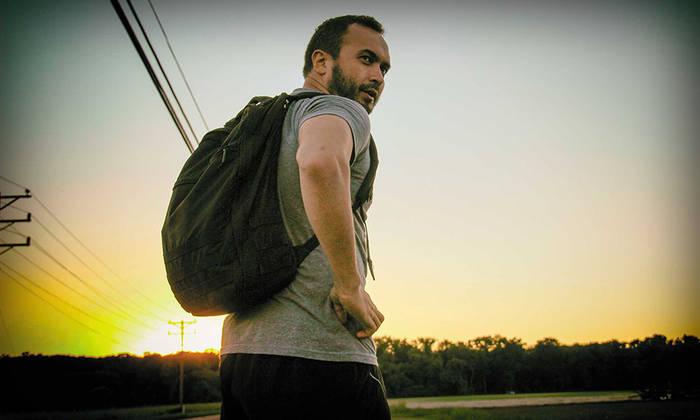 Тренировка с рюкзаком, полным утяжелителей - отличная замена кардио