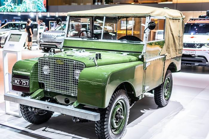 Land Rover Series I 86 Station Wagon 1955