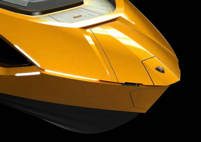 Нос Tecnomar for Lamborghini 63 будет украшен шильдиком итальянского бренда