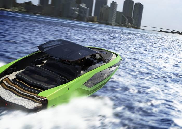 Tecnomar for Lamborghini 63. Максимальная скорость — 60 узлов (111 км/ч)