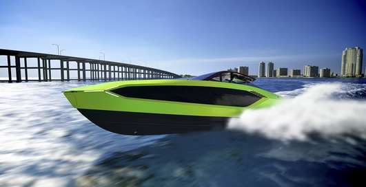 Ламбо-яхта: 2000-сильная Tecnomar for Lamborghini 63