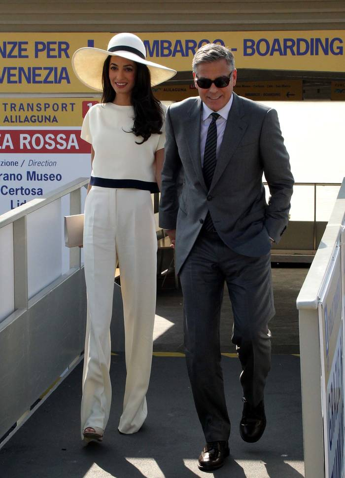 Амаль и Джордж Клуни, 2014