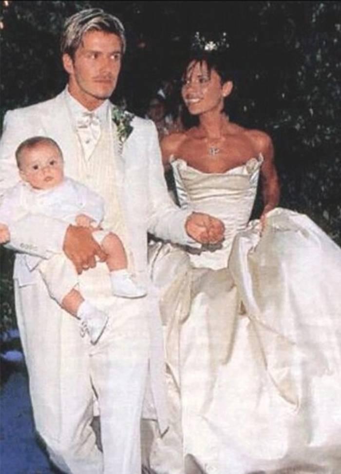 Дэвид и Виктория Бекхэм, 1999