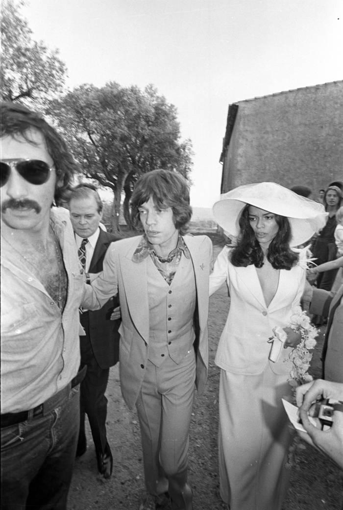 Мик и Бьянка Джаггер, 1971