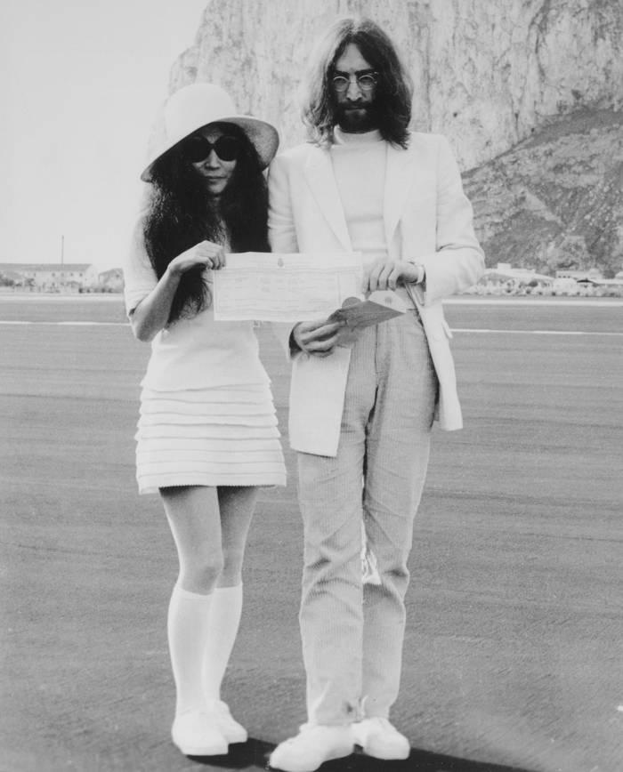 Йоко Оно и Джон Леннон, 1969