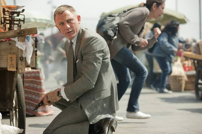 "Кадр из фильма ""007: Координаты «Скайфолл»"", 2012"
