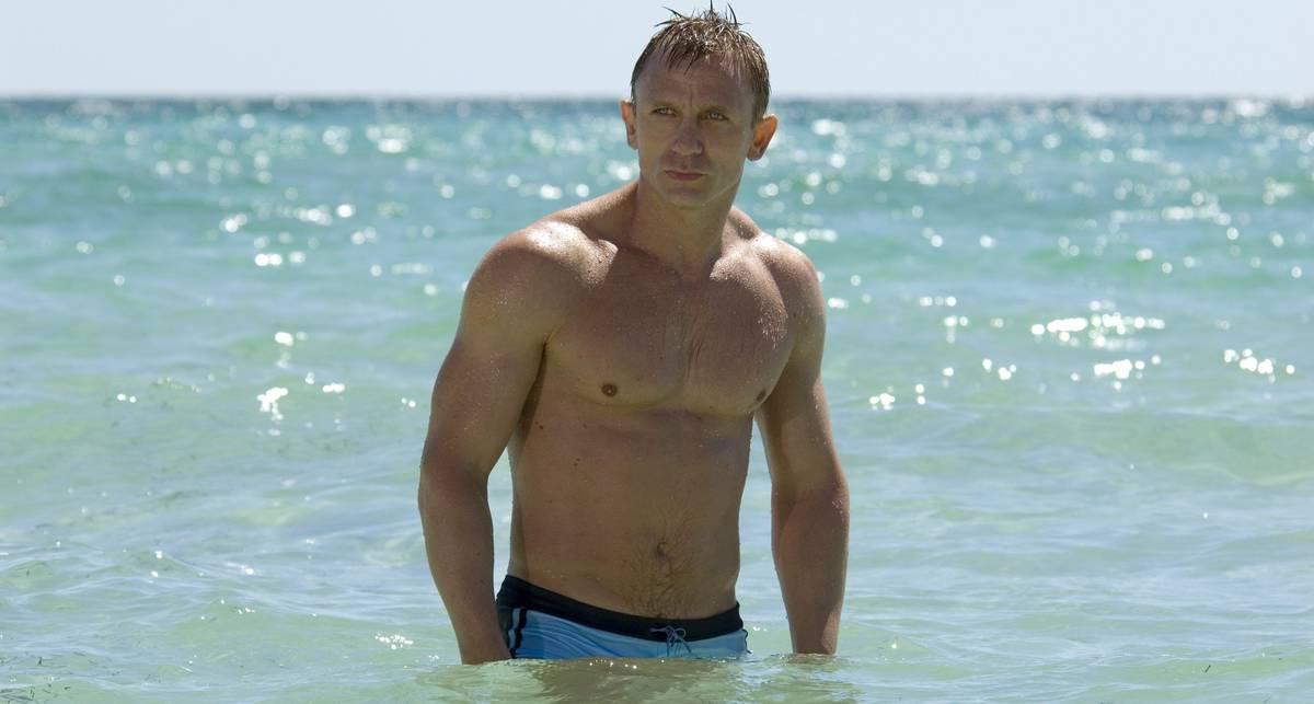 Мускулы 007: как Дэниел Крейг тренировался для роли Джеймса Бонда