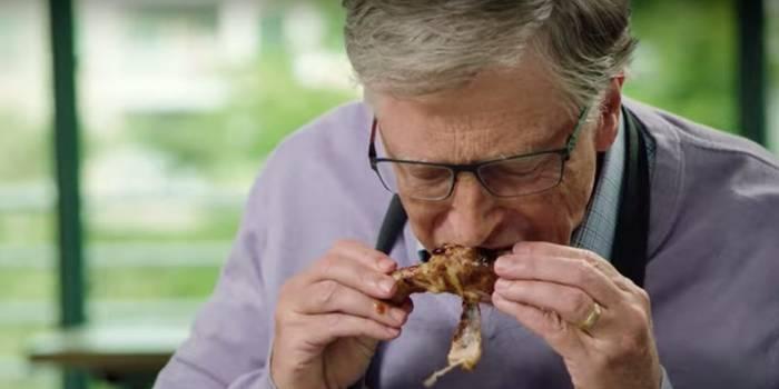 Билл Гейтс любит еду из Макдональдса