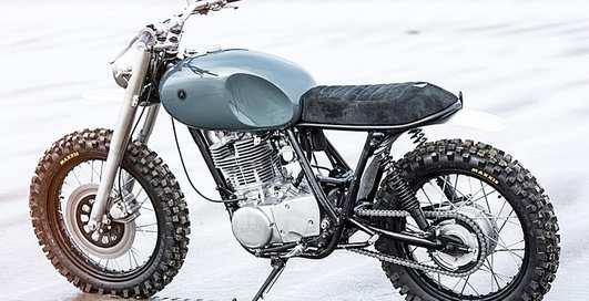 Трибьют раллийной легенде Yamaha XT500: кастомный байк Autofabrica Type 7
