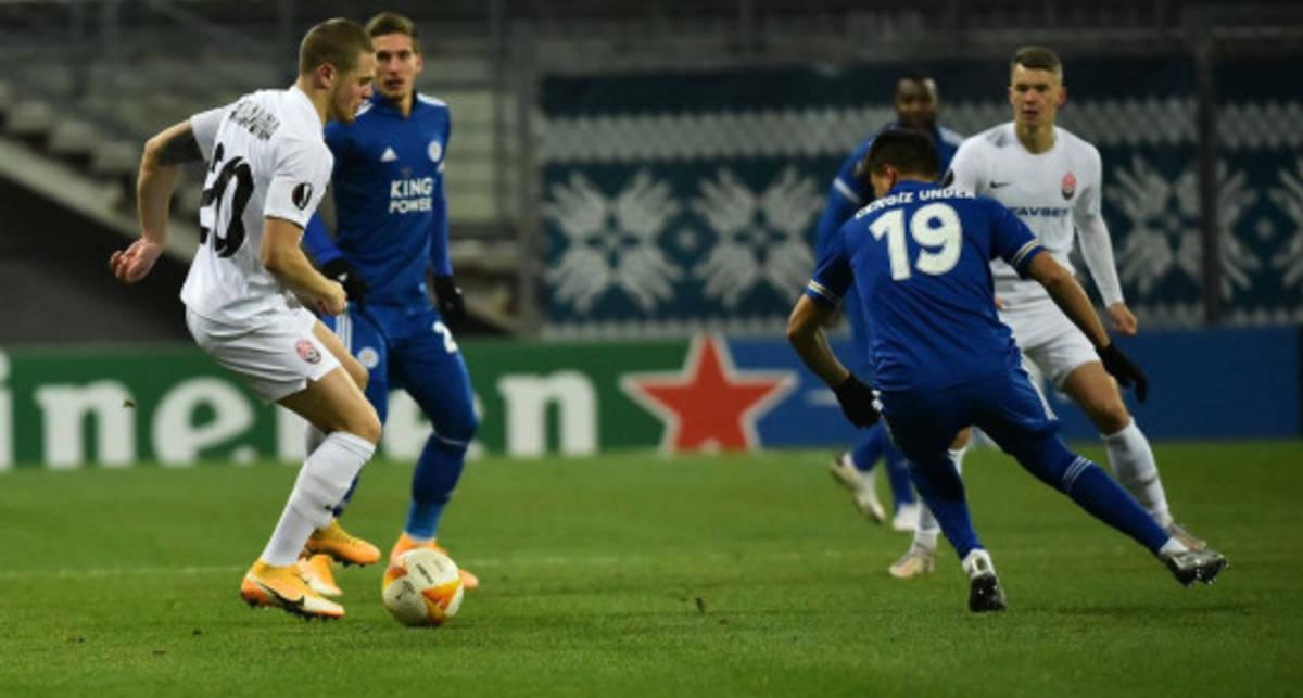 «Заря» одержала вторую победу в Лиге Европы, но лишилась шансов на выход в плей-офф турнира