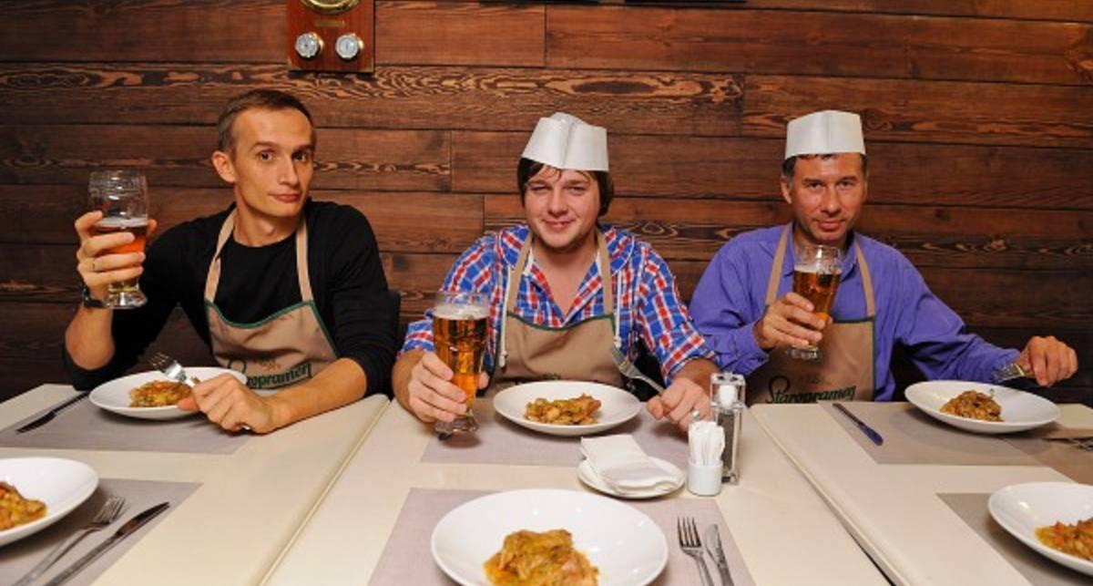 Мастер-классы Staropramen: Тушеный кролик и десерт на пиве