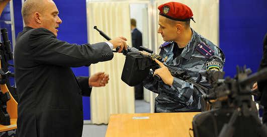 Оружие и Безопасность-2013: боевое оружие