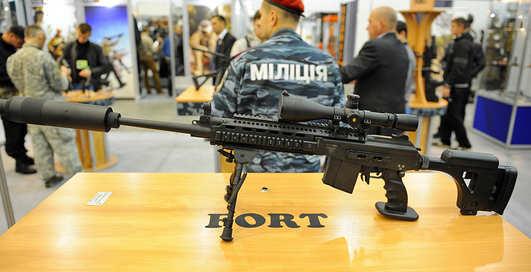 Стволы в Киеве: выставка Оружие и безопасность-2013