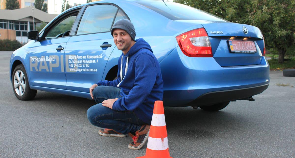 Уроки экстрим-вождения: учимся парковаться задом