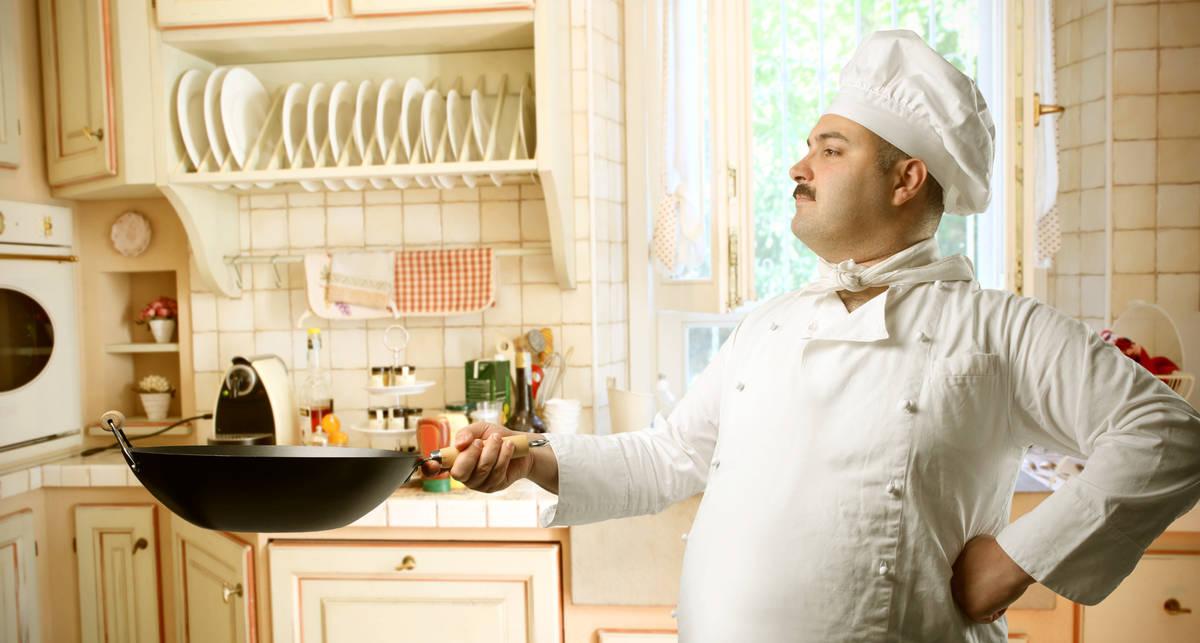 Готовим мужские блюда в День Яйца