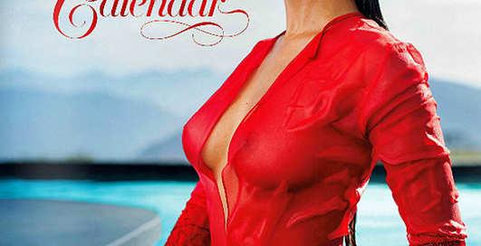 Playboy выпустил пикантный календарь на 2014 год
