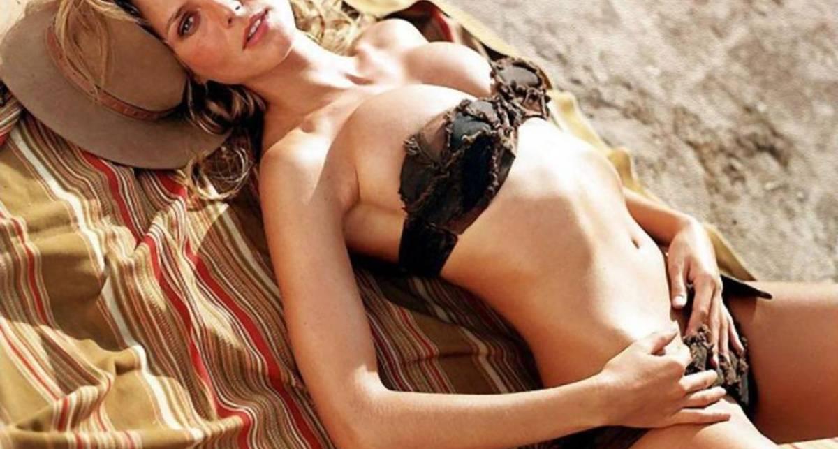 Белье Хайди Клум: эволюция нижнего от модели