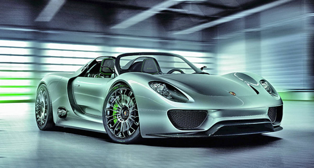 Суперкар Porsche будет расходовать всего 3 л/100 км