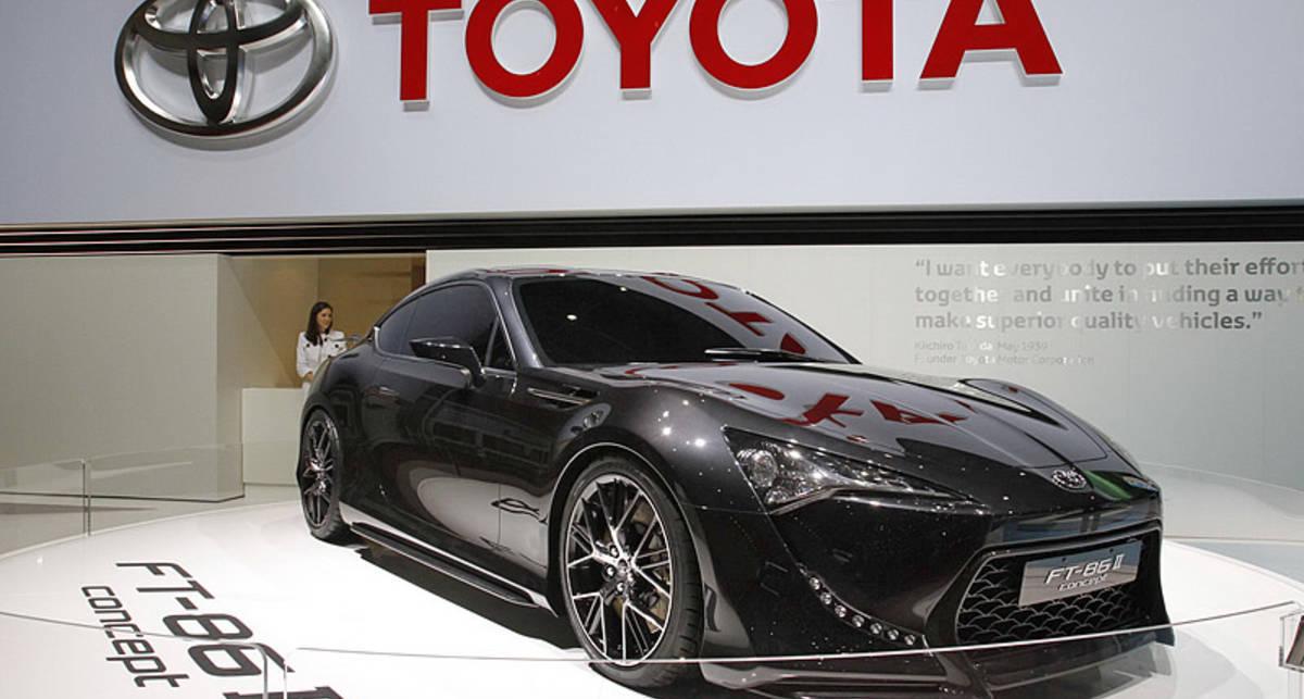 Toyota готовится начать производство купе FT-86