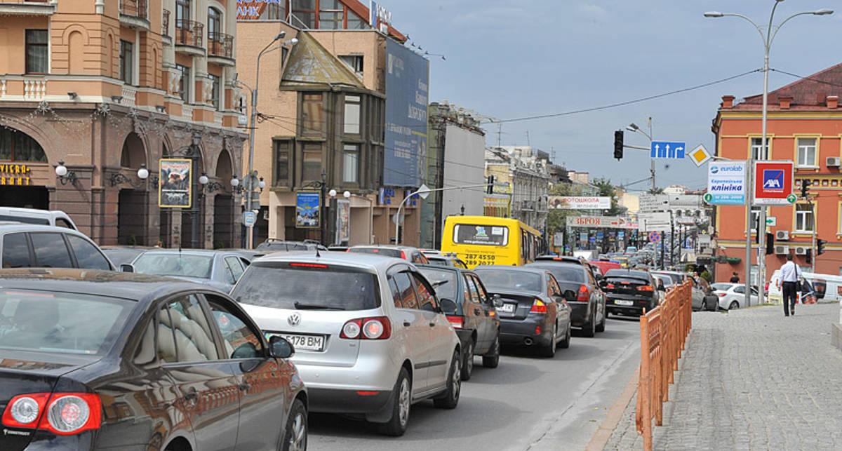 По количеству авто Украина недалеко ушла от Чили и Панамы
