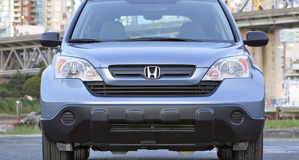 Honda обновит свой кроссовер