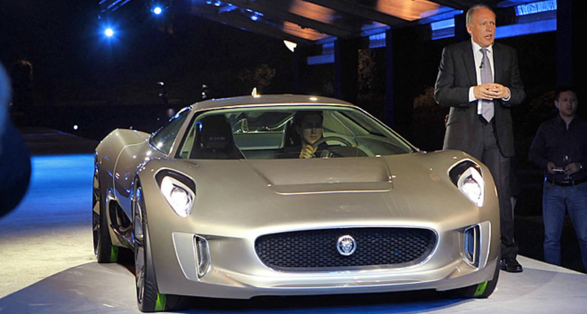 Новый Jaguar разгонится до 300 км/ч за 15,5 секунды