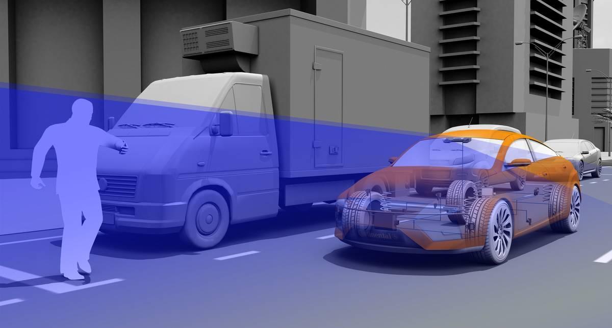 Машины научат тормозить перед пешеходами