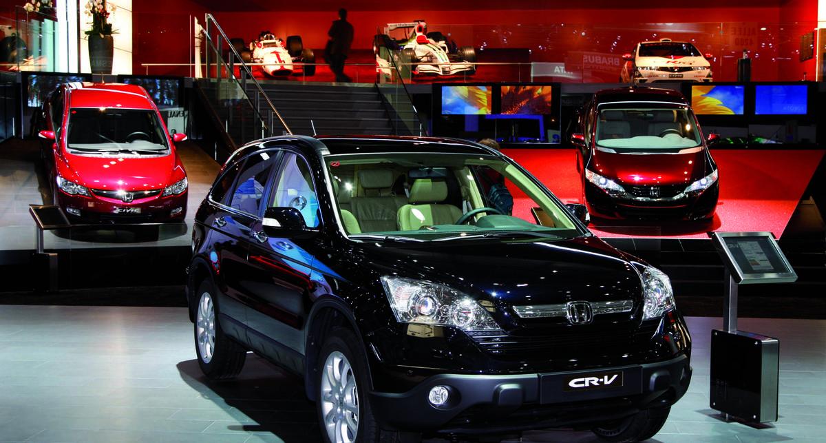 В Украине будет дефицит автомобилей Honda