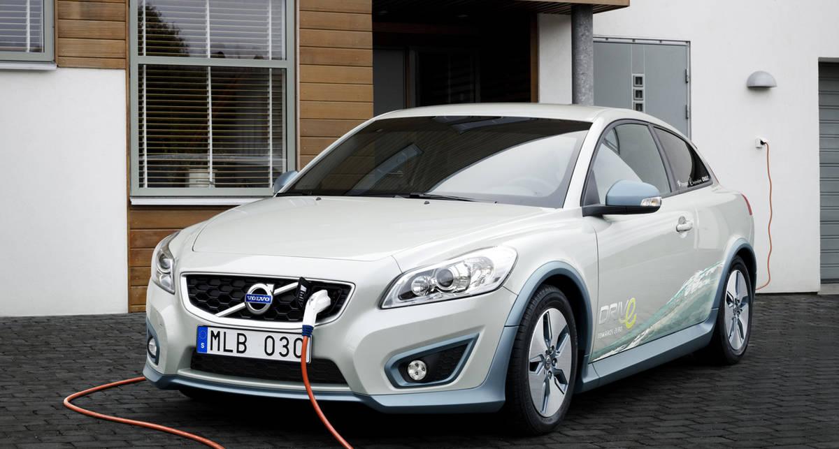 В Volvo придумали дистанционную зарядку для электрокаров (фото)