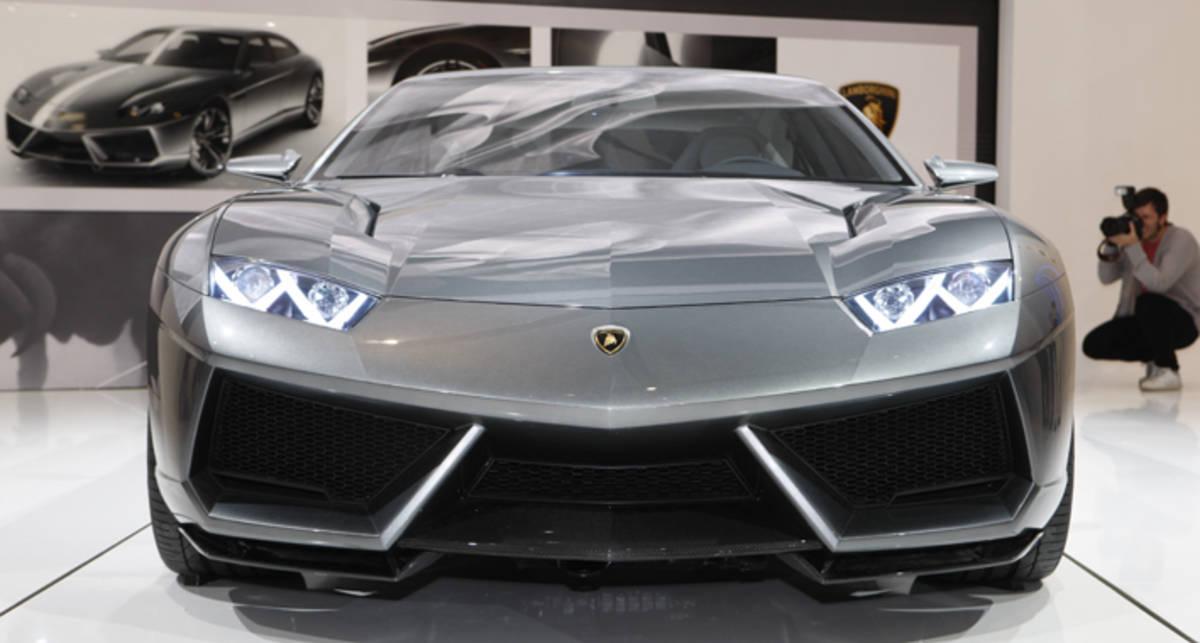 Новый Lamborghini сделают конкуренты