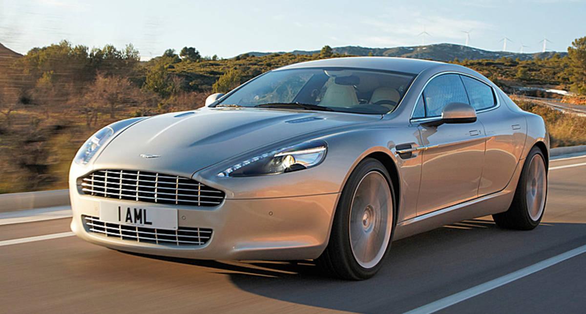 Aston Martin Rapide больше никому не нужен