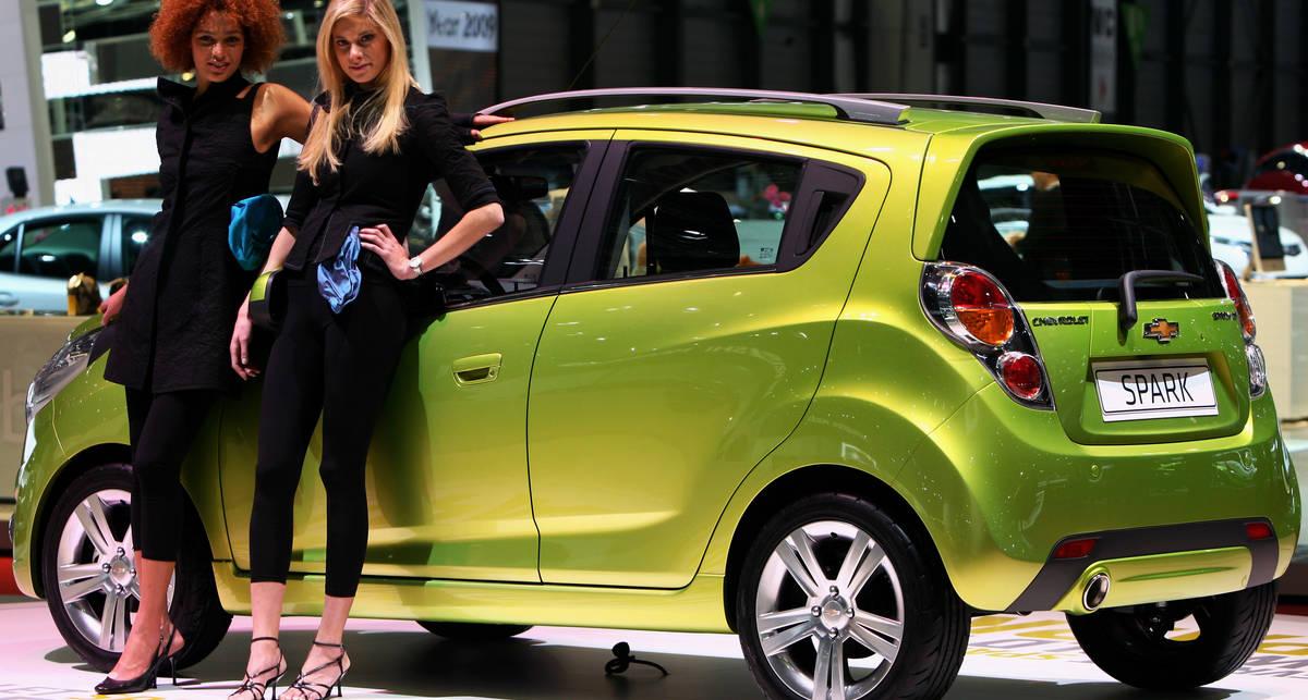Компания Chevrolet выпустила электрокар для бедных