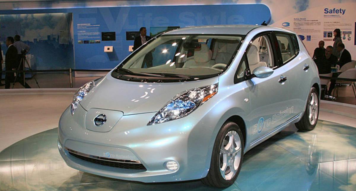 Nissan Leaf не пустили на фестиваль в Гудвуде