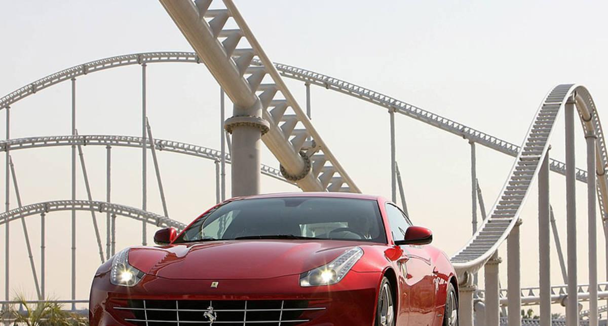 Ferrari FF продали с молотка ради Японии