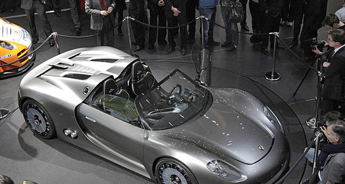 Новый Porsche за ?645 тыс. прописался в Украине