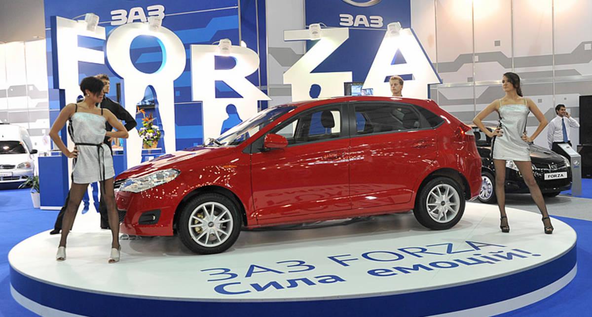 В Украине продали 1 тыс. ЗАЗ Forza