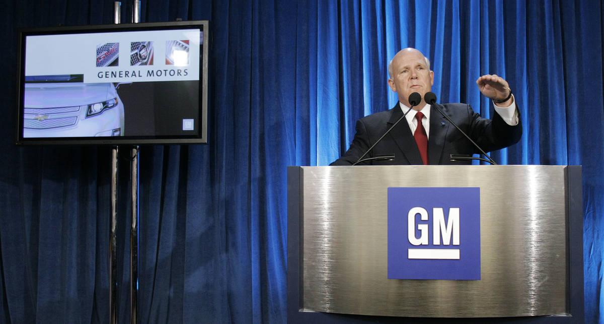 General Motors вновь стал лидером автопрома