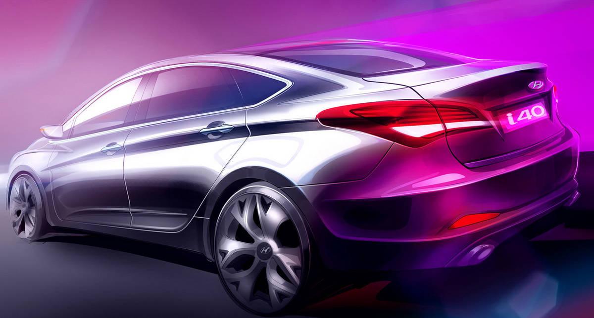 Hyundai представит новый седан для Европы
