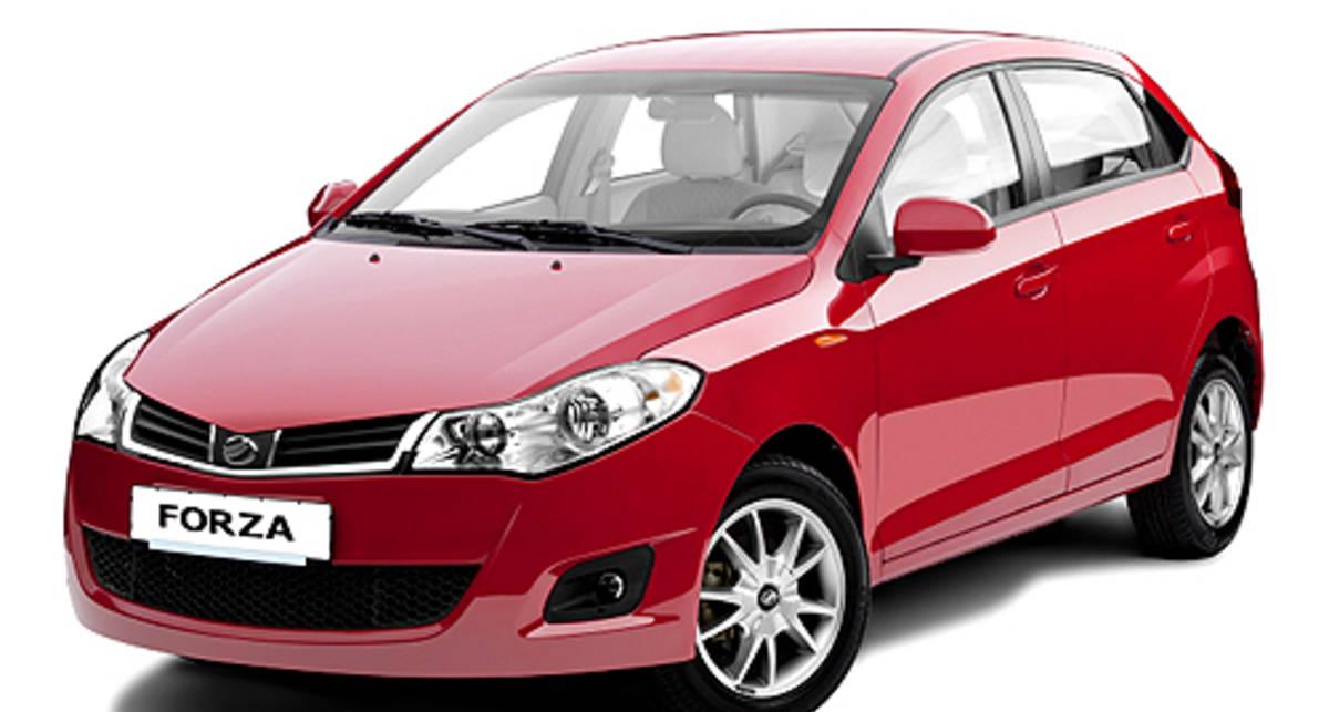 На SIA 2011 покажут ЗАЗ Forza в новом кузове
