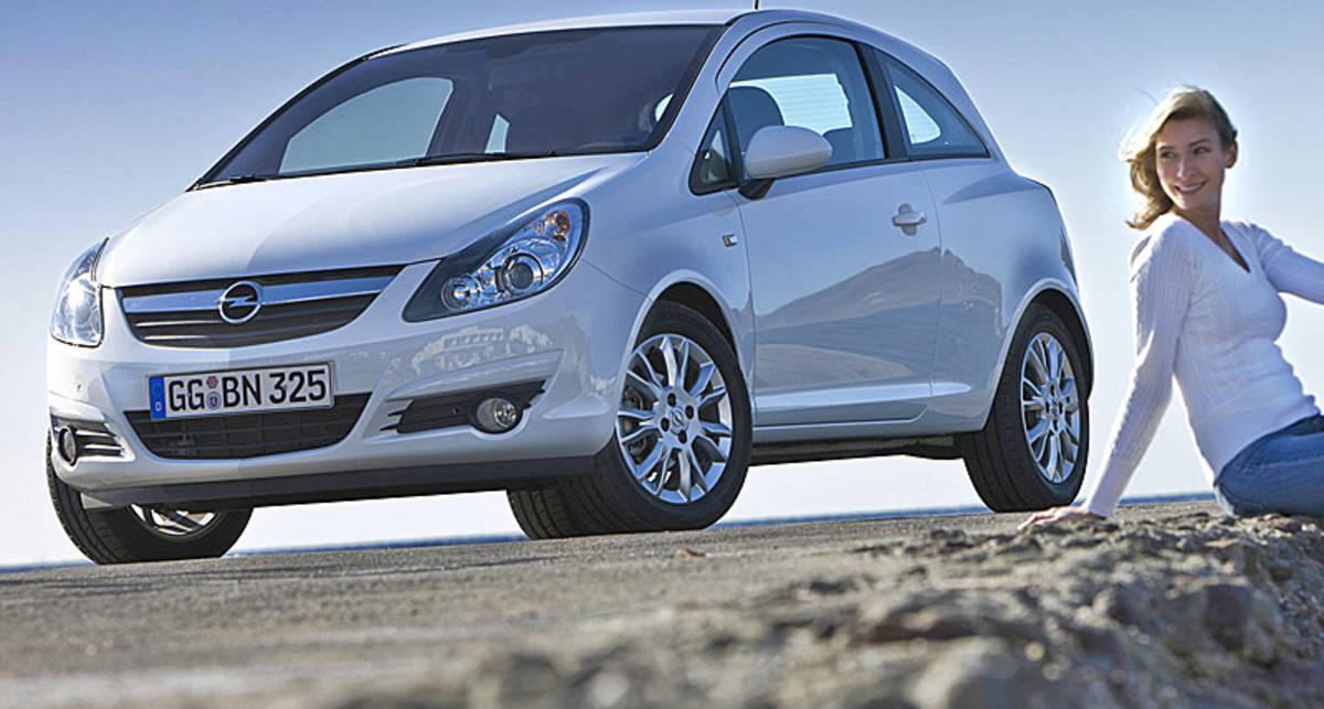 Opel сделает кроссовер на базе самой маленькой модели