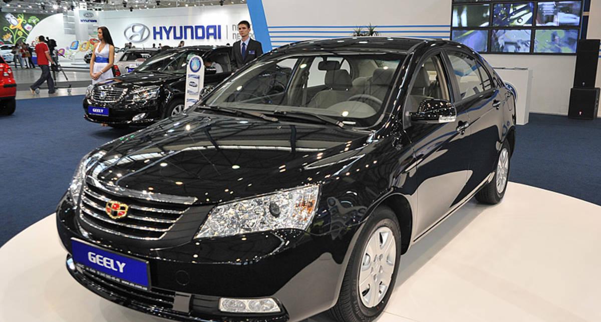 Самый безопасный автомобиль в Китае едет в Украину