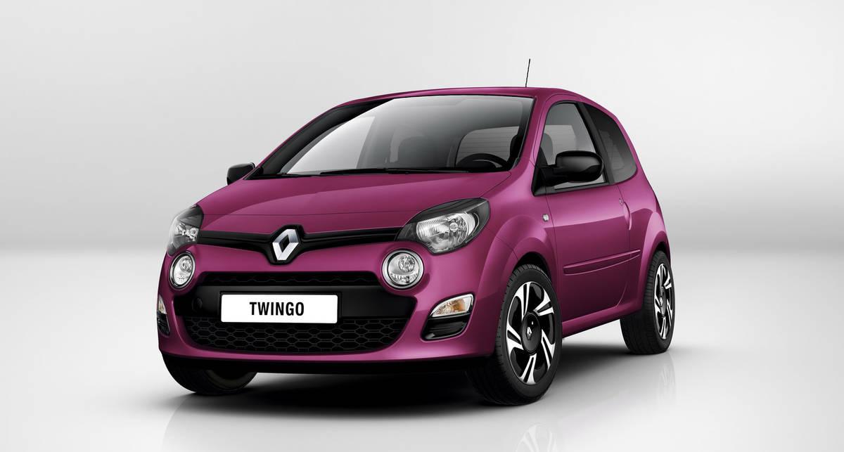 Во Франкфурте покажут обновленный Renault Twingo