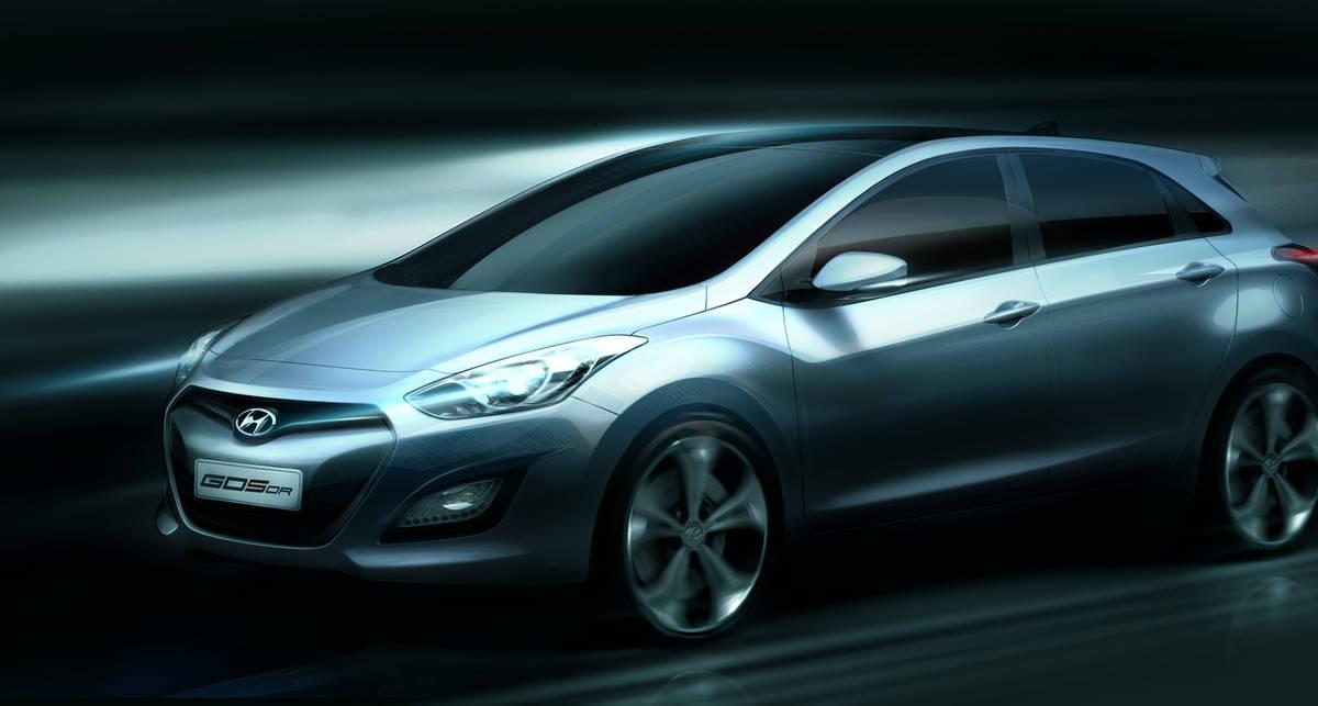 Корейцы показали первое фото нового Hyundai i30