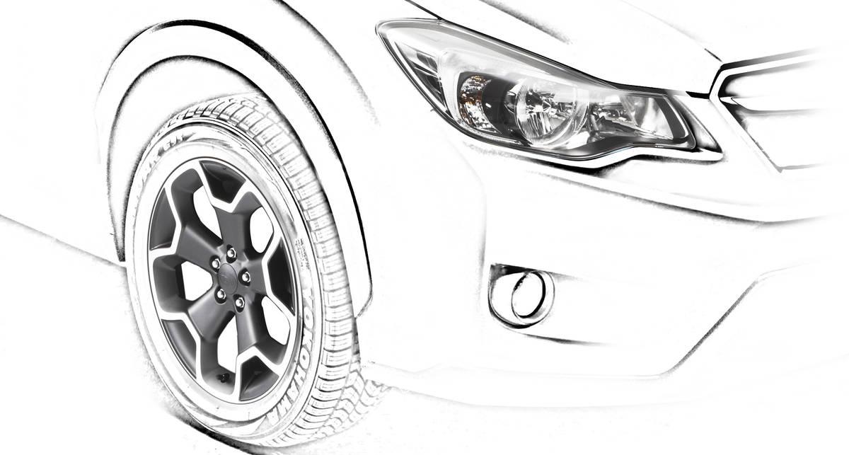 Subaru привезет во Франкфурт новый кроссовер