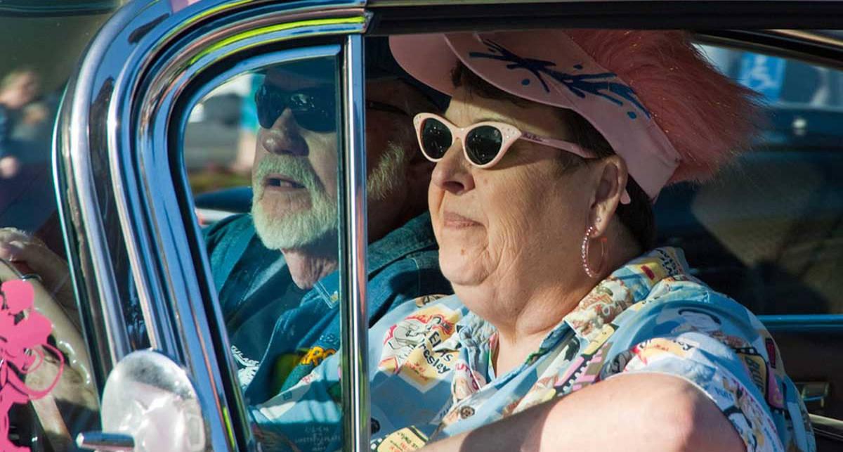 Итальянка стала водителем в 88 лет