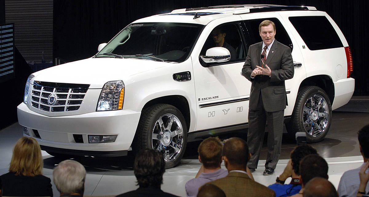 Cadillac Escalade стал самым угоняемым автомобилем