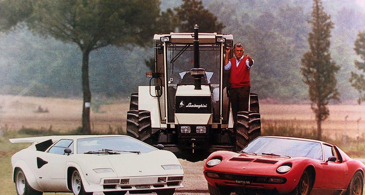Ферруччо Ламборгини - тракторист, обогнавший Ferrari (фото)