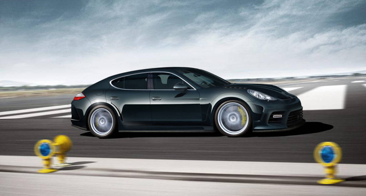 Поляк разбил эксклюзивный Porsche за $500 тыс.