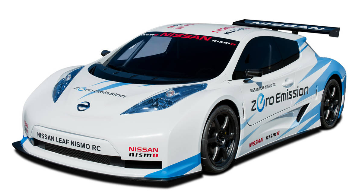 Из Nissan Leaf сделали спорткар