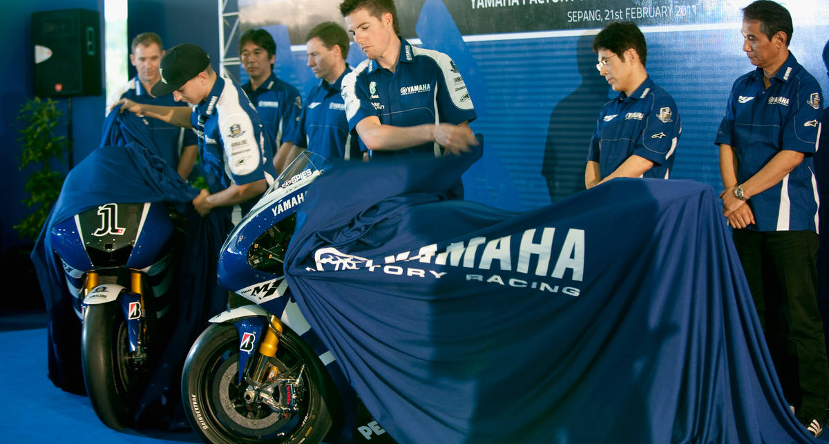Мотоциклы Yamaha начнут собирать во Франции